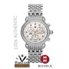 Michele MWW03M000203 CSX 1.47ct Diamond 36mmn Stainless Steel Watch - Swiss Watch