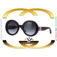 Gucci GG0319S-001 Women's Black Grey Gradient Lens 52mm Sunglasses